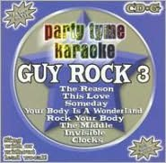Party Tyme Karaoke: Guy Rock, Vol. 3