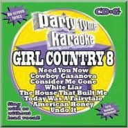 Party Tyme Karaoke: Girl Country, Vol. 8