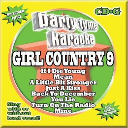 Party Tyme Karaoke: Girl Country 9