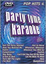 Party Tyme Karaoke: Pop Hits, Vol. 4