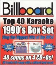 Billboard Top 40 Karaoke: 1990s [Box]
