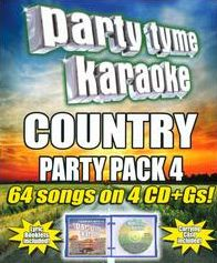 Party Tyme Karaoke: Country Party Pack, Vol. 4