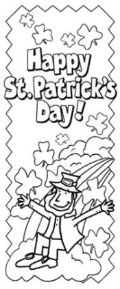 Barker Creek LL-2110 Create-To-Celebrate Bookmarks - St Patricks Day