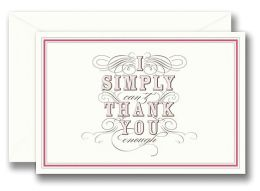 Simply Scripted - Thank You Set of 10