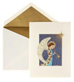 Starlit Angel Christmas Boxed Card