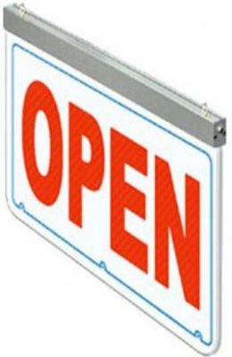 "Actiontek OPEN-300 24"" OPEN LED Sign"