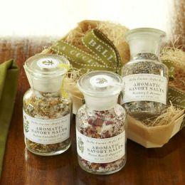 Savory Salt Sampler Gift Set - Lavendar, Rose and Calendula