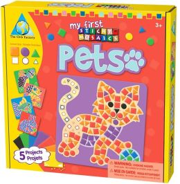 My First Sticky Mosaic Pets