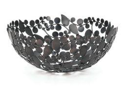 Antique Vine Bronze Round Bowl