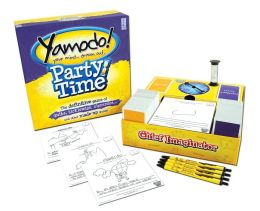 Yamodo, Party Time - The definitive game of quibs, ticklewigs, zipperdos and other made-up words.