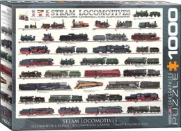 Steam Locomotive 1000 Piece Puzzle