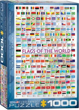 Flags of the World 1000 Piece Puzzle