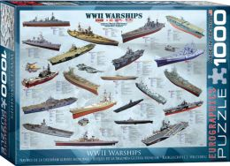 WWII War Ships 1000 Piece Puzzle