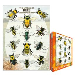 World of Bees 1000 Piece Puzzle