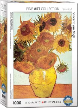 Van Gogh Sunflowers 1000 Piece Puzzle