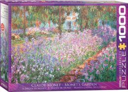 Claude Monet Monet's Garden 1000 Piece Jigsaw Puzzle