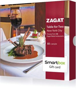 Zagat Table for Two Gift Card - New York Edition