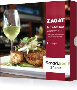 Zagat Table for Two Gift Card - Washington D.C. Edition