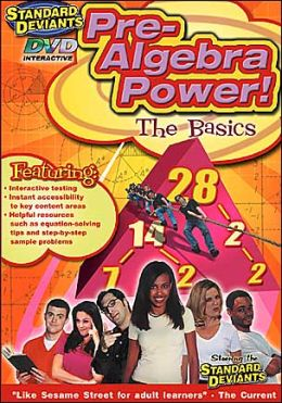 Standard Deviants: Pre-Algebra Power - Learning