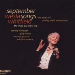 September Songs: The Music of Wilder, Weill and Warren