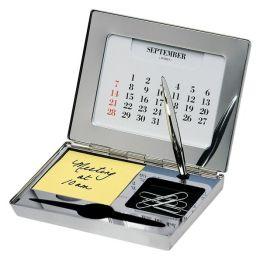 Silver Desktop Organizer