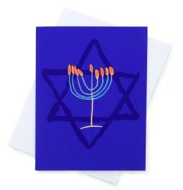 Chanukah Card - The Paint Box Project - Boxed Set of 8