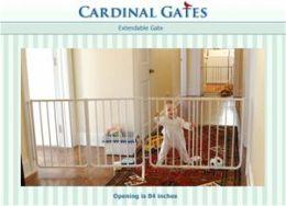 Cardinal Gates Baby Gate - Black EX-5-BLACK