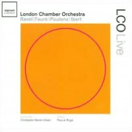 London Chamber Orchestra plays Ravel, Fauré, Poulenc & Ibert