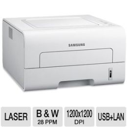 Samsung ML-2955ND Mono Laser Printer - 1200 x 1200 dpi, 28 ppm, 533 MH