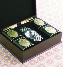 Wooden Chest of Tea Gift Set