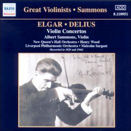 Elgar & Delius: Violin Concertos