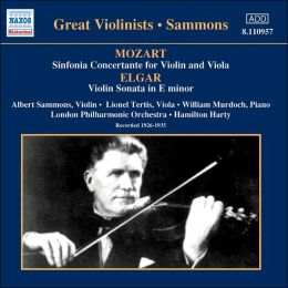Mozart: Sinfonia Concertante for Violin & Viola; Elgar: Violin Sonata in E minor