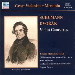 Schumann, Dvorák: Violin Concertos