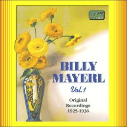 Billy Mayerl: Original Recordings, Vol. 1