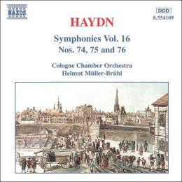 Haydn: Symphonies Nos. 74, 75 & 76