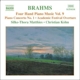 Brahms: Four Hand Piano Music, Vol. 9