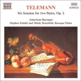 Telemann: Six Sonatas for Two Flutes, Op. 2