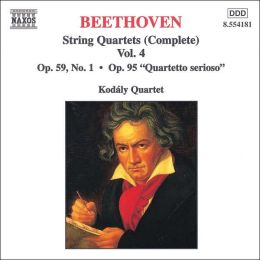 Beethoven: String Quartets (Complete), Vol. 4