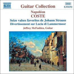 Coste: Seize Valses Favorites de Johann Strauss Op. 7