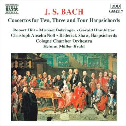 Bach: Concertos for Harpsichords