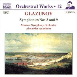 Glazunov: Symphonies Nos. 3 & 9
