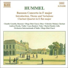 Hummel: Bassoon Concerto, etc.