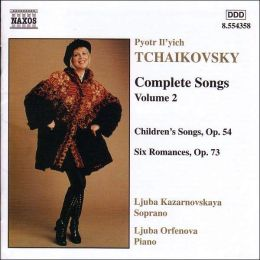 Tchaikovsky: Complete Songs Vol.2