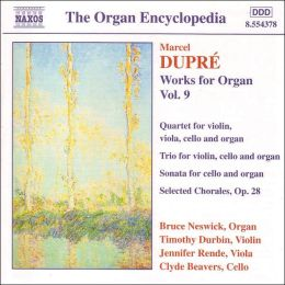 Dupré: Works for Organ, Vol. 9