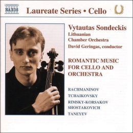 Romantic Music for Cello & Orchestra