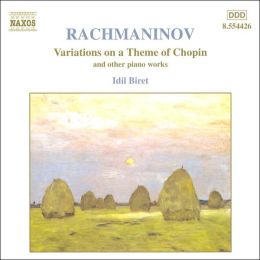 Rachmaninov: Variations on a Theme of Chopin