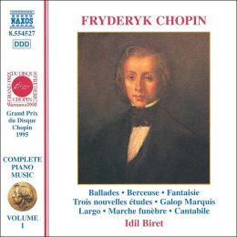 Chopin: Complete Piano Music, Vol. 1