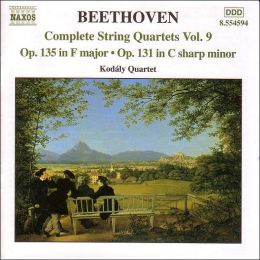 Beethoven: Complete String Quartets, Vol. 9