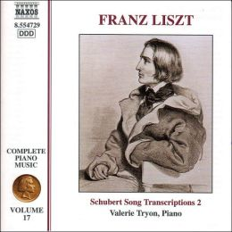 Liszt: Complete Piano Music, Vol. 17, Schubert Song Transcriptions 2