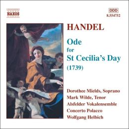 Handel: Ode for St. Cecilia's Day (1739)